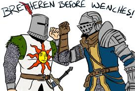 BRETHEREN BEFORE WENCHES by Zuerel