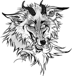 sketch for tattoo 2 - Crazy Fox by FeurigenSatan