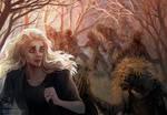 [ZINE] - Walking Dead - Andrea by FeurigenSatan