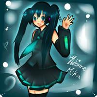 Miku Miku desu by Lucky-KaiRi