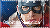 (Marvel) Captain America - Stamp by Paolachief117
