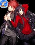 Shiro and Rin - Render