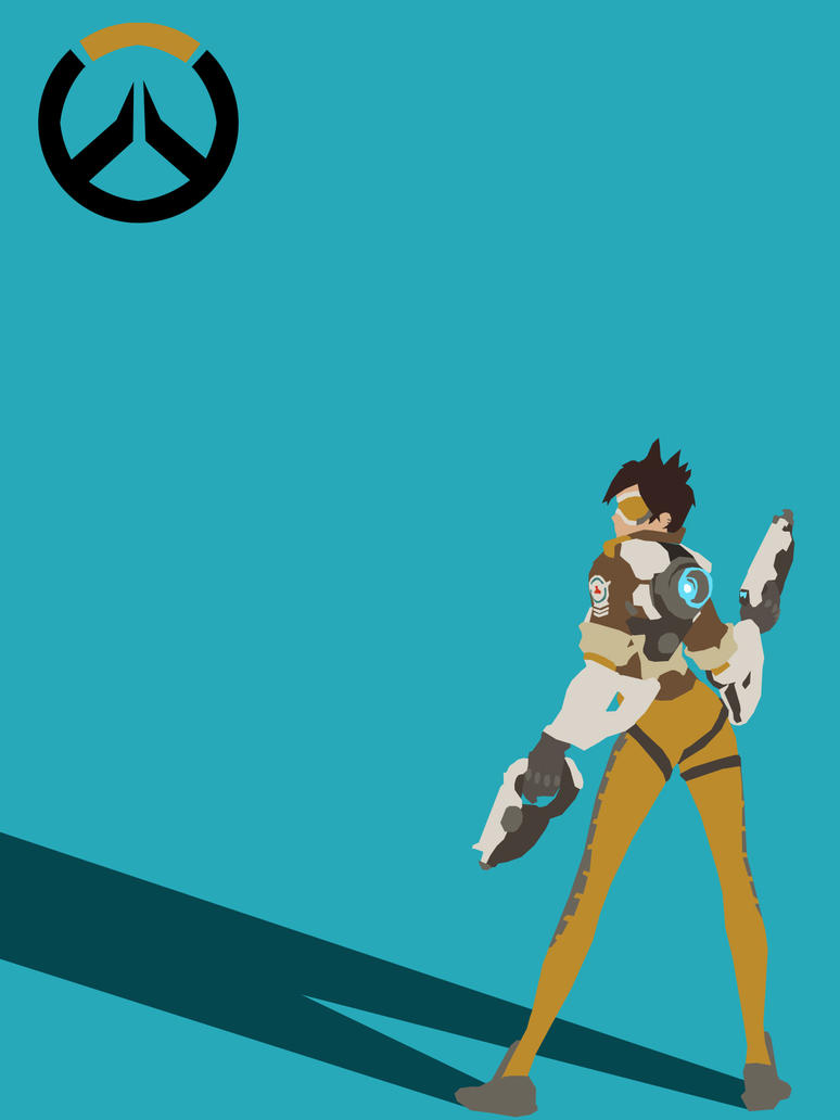 Tracer Minimalist Poster. Every Hero Now Released! by ...