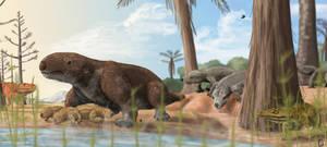 The malagasy-brazilian cynodont Menadon besairiei