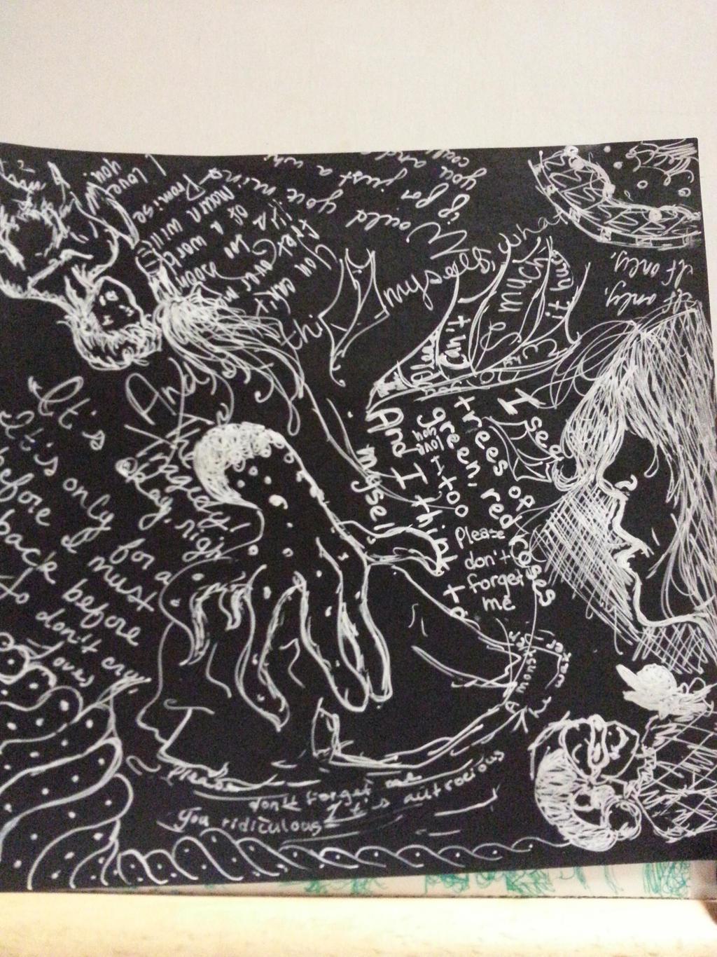 Origami Black Butterfly Paper[1] by AgentTuxedoBird