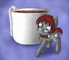 Earl Grey Cafe Pony by SpectralPony