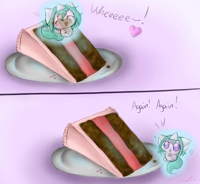 Oki's Slide by SpectralPony