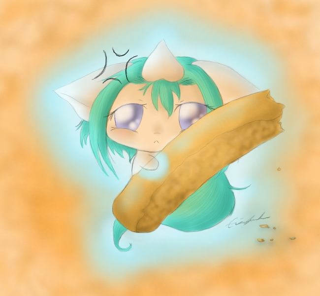 Who Nibbled My Biscotti by SpectralPony