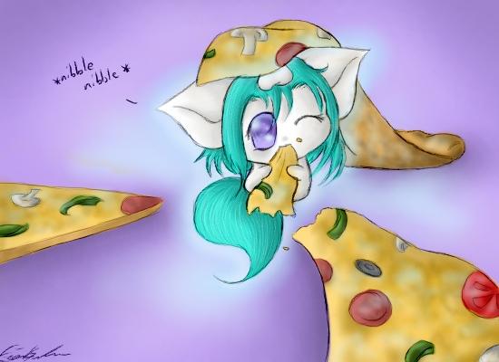 Pizza Party by SpectralPony