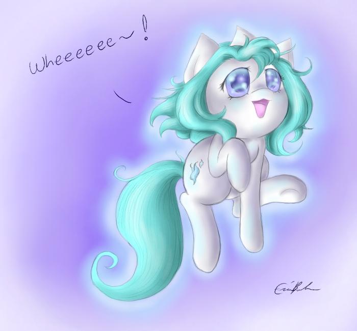 Wheeee by SpectralPony