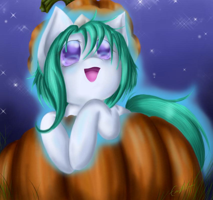 Oki Pumpkin by SpectralPony