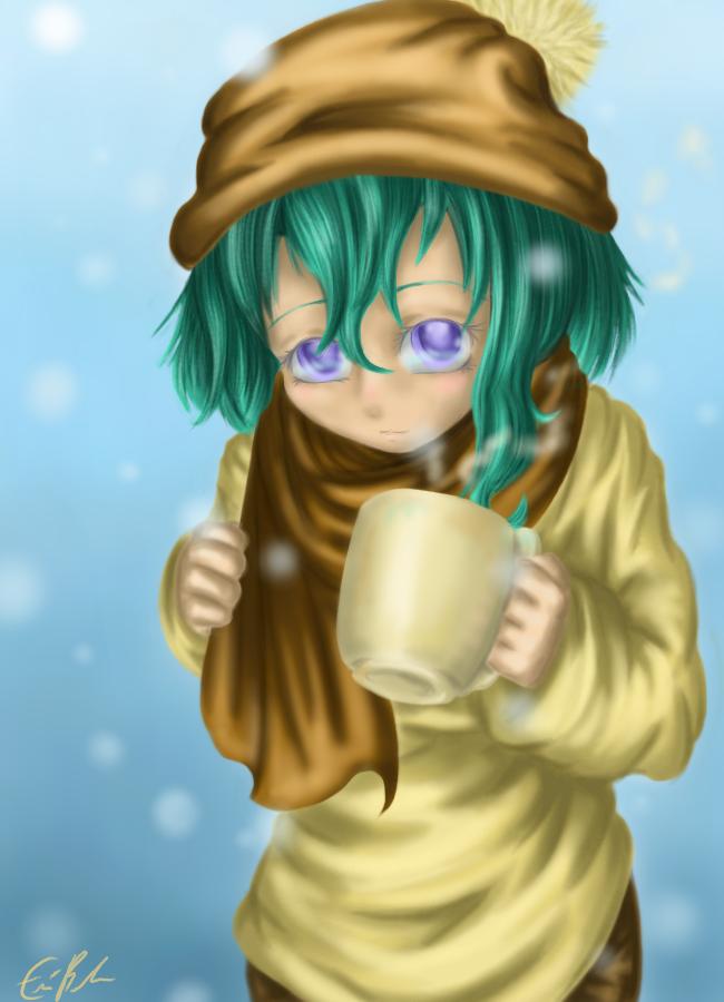 Stay Warm, Drink Coffee by SpectralPony