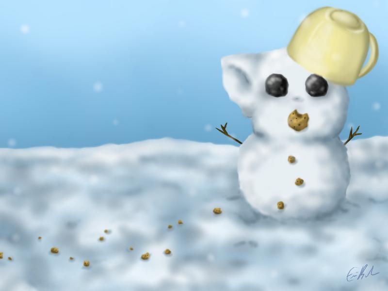 'Snow'ki by SpectralPony