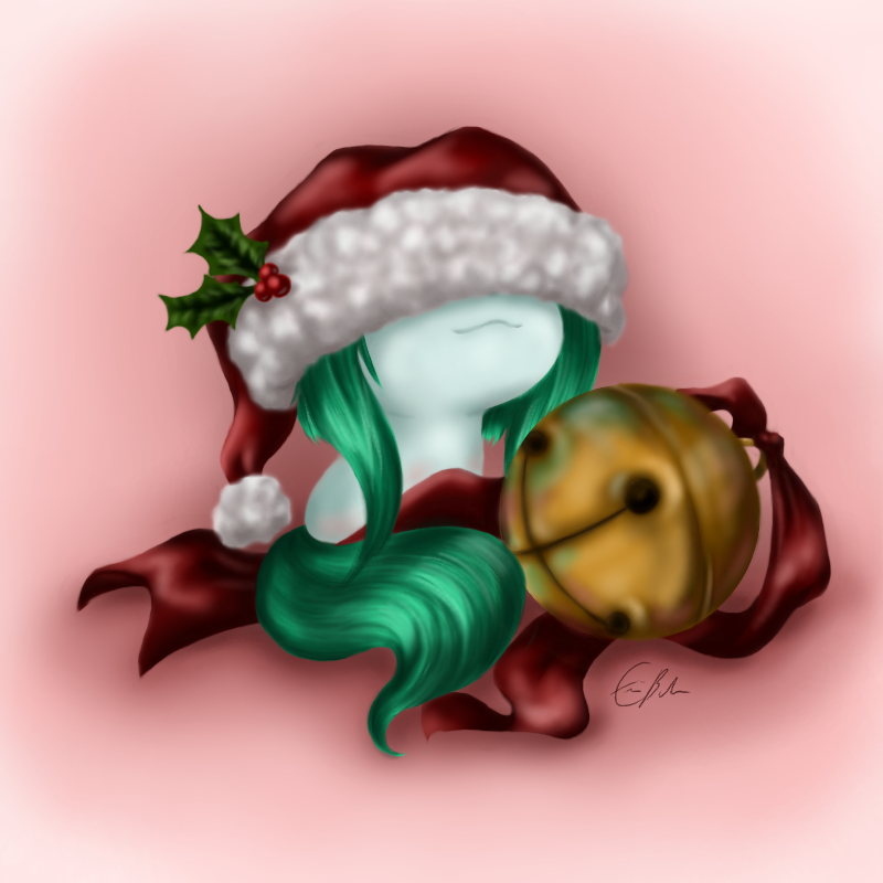 Of Santa Hats and Jingle Bells by SpectralPony