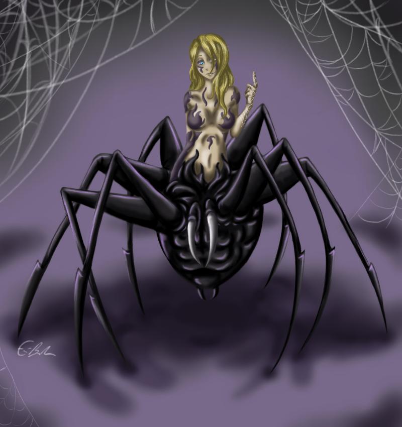 Along Came A Spider by SpectralPony