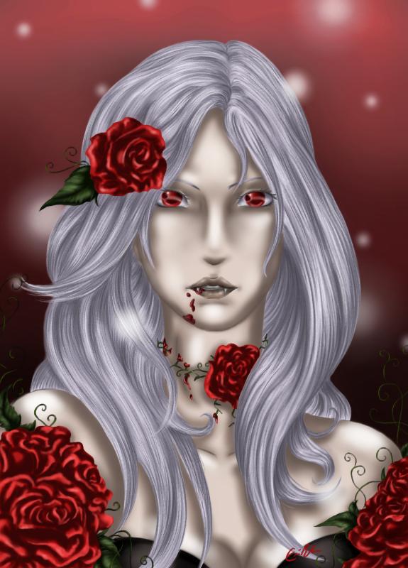 A Portrait of Damnation Most Beautiful by SpectralPony