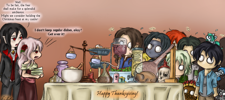 Happy Thanksgiving 2015 by SpectralPony