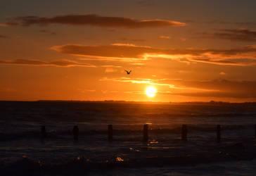 Aldwick031218a sunset by beajaye1