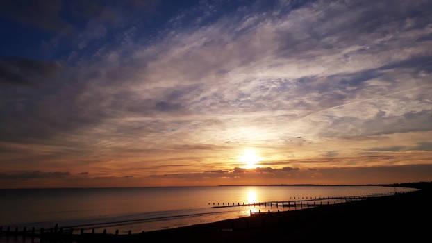 Aldwick sunset 250119