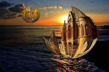A Time Ship on the Seas of Mars by beajaye1