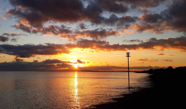 Aldwick sunset 181119