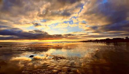 aldwick sunset 100129b