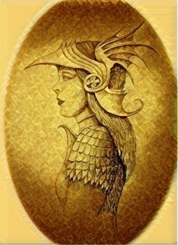 An Elf princess in armour