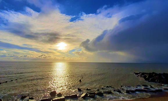 morning sun and rain 040221