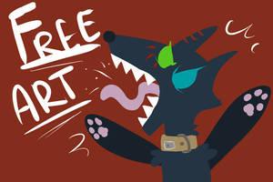 Free Art  Open!!!!  (Poisondemonsaskia)