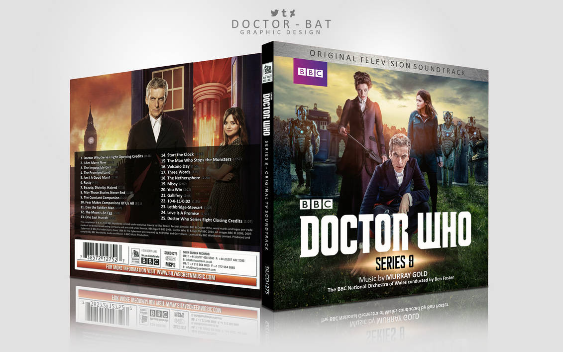 Doctor Who: Series 8 - Original Soundtrack CD by Doctor-Bat