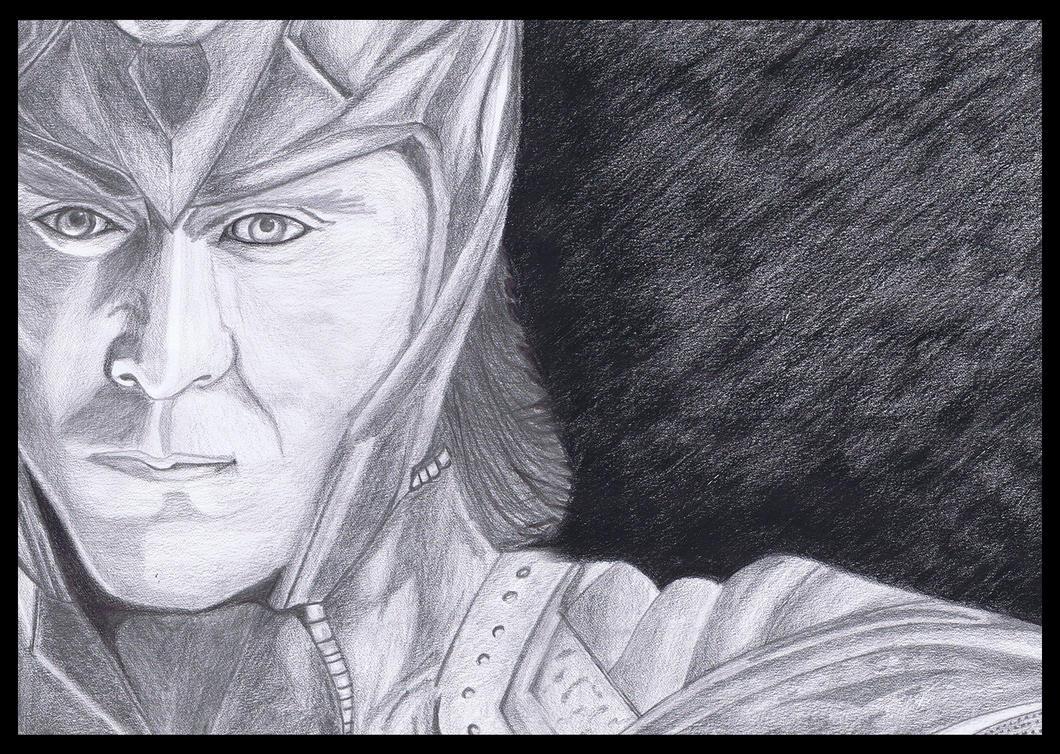 Loki In Marvelu0026#39;s Avengers Pencil Sketch By Vishesh999 On DeviantArt