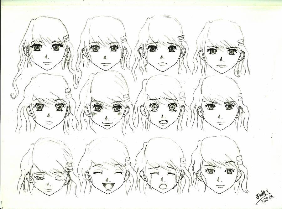 Rikus facial expressions by baraczk