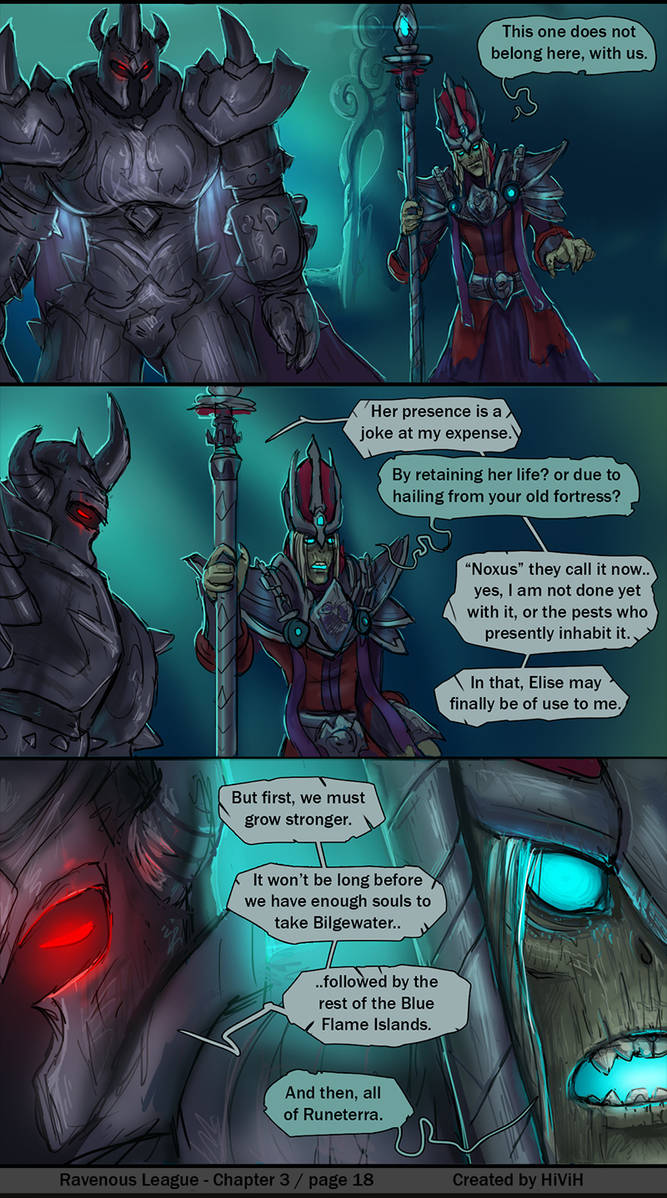 Ravenous League - Chapter3 / Page18