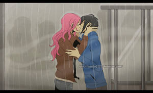 Kiss in the rain by marilie7777