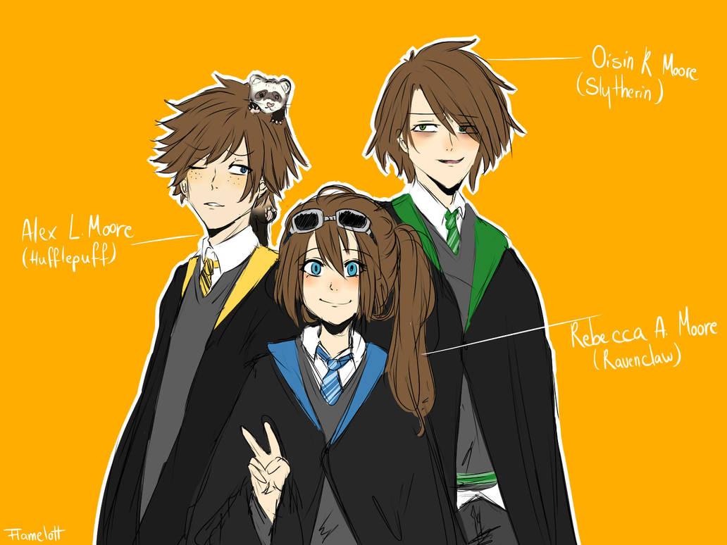 Harry Potter Oc By Moonprincess22 Deviantart – Dibujos Para Colorear