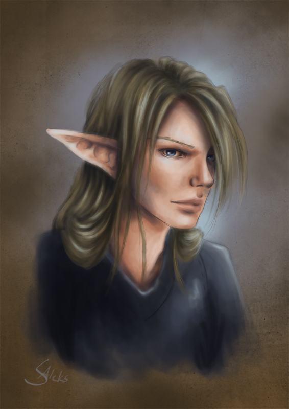 Keylar Lanel - Portrait by SilasAleks
