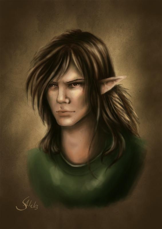 Ylldan Neblalhon - Portrait by SilasAleks