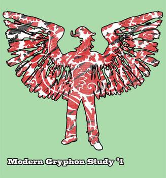 Modern Gryphon - Study 1 by abattoir