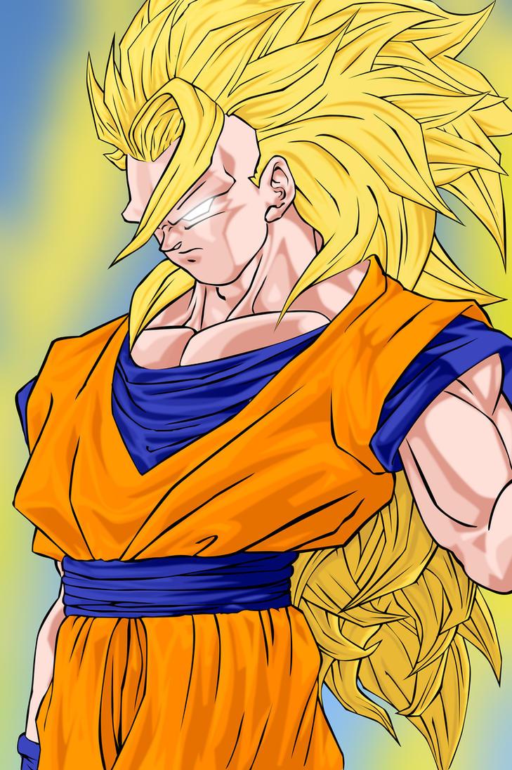 Goku super sayan 3 by dannyfcool on deviantart - Goku super sayan 5 ...