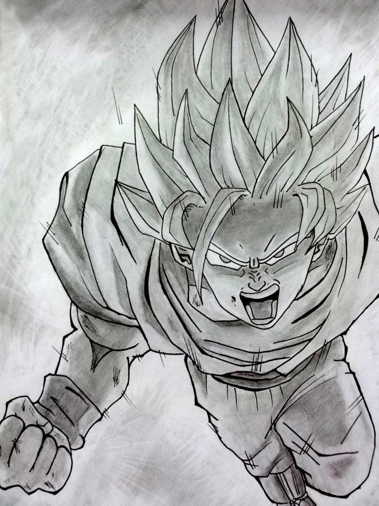 Goku SSJ2 by DannyFCool