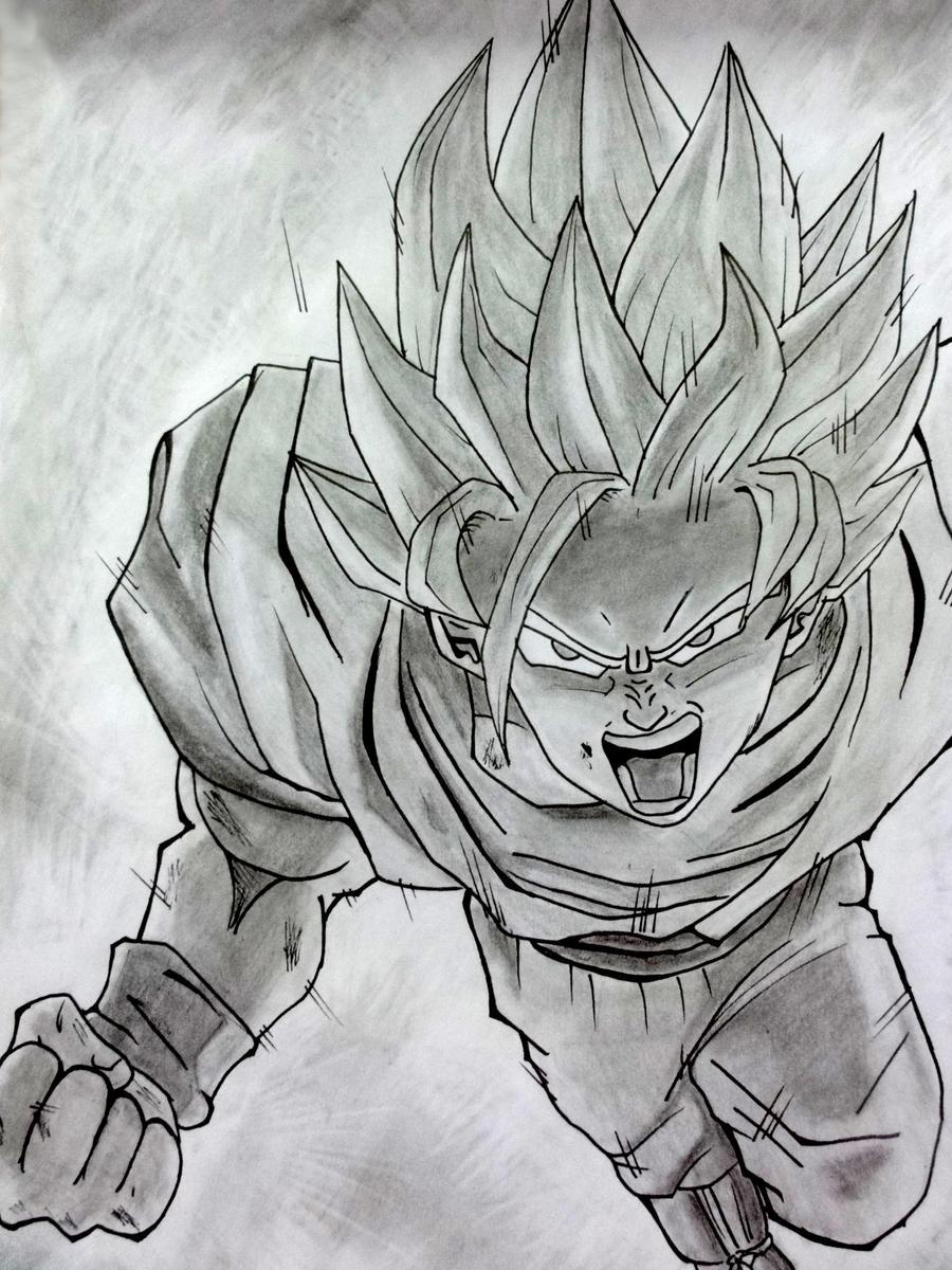 Goku SSJ2 by DannyFCool on DeviantArt