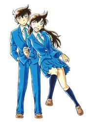 Ran and Shinichi file 1000