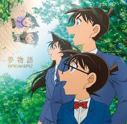 Ran, conan and Shinichi