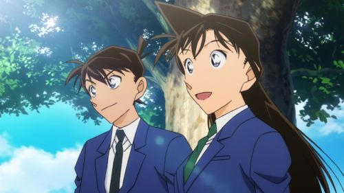 Ran and Shinichi opening new