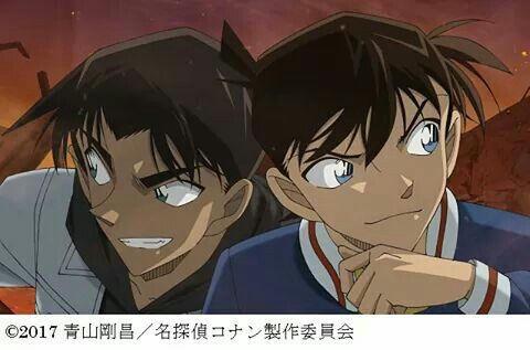 Shinichi and Heiji
