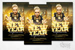 New Year Euphoria Flyer
