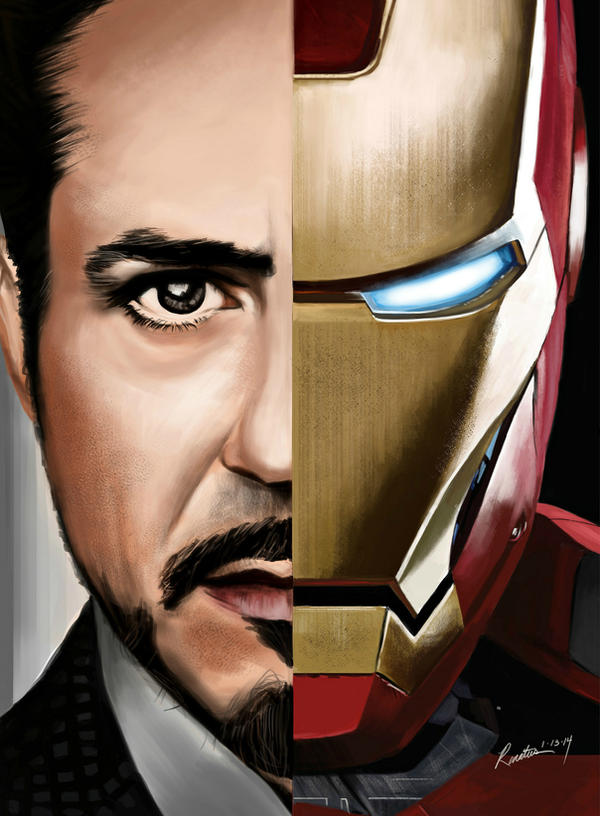 I Is For Iron ~ Truth is i am iron man by renatusarts on deviantart