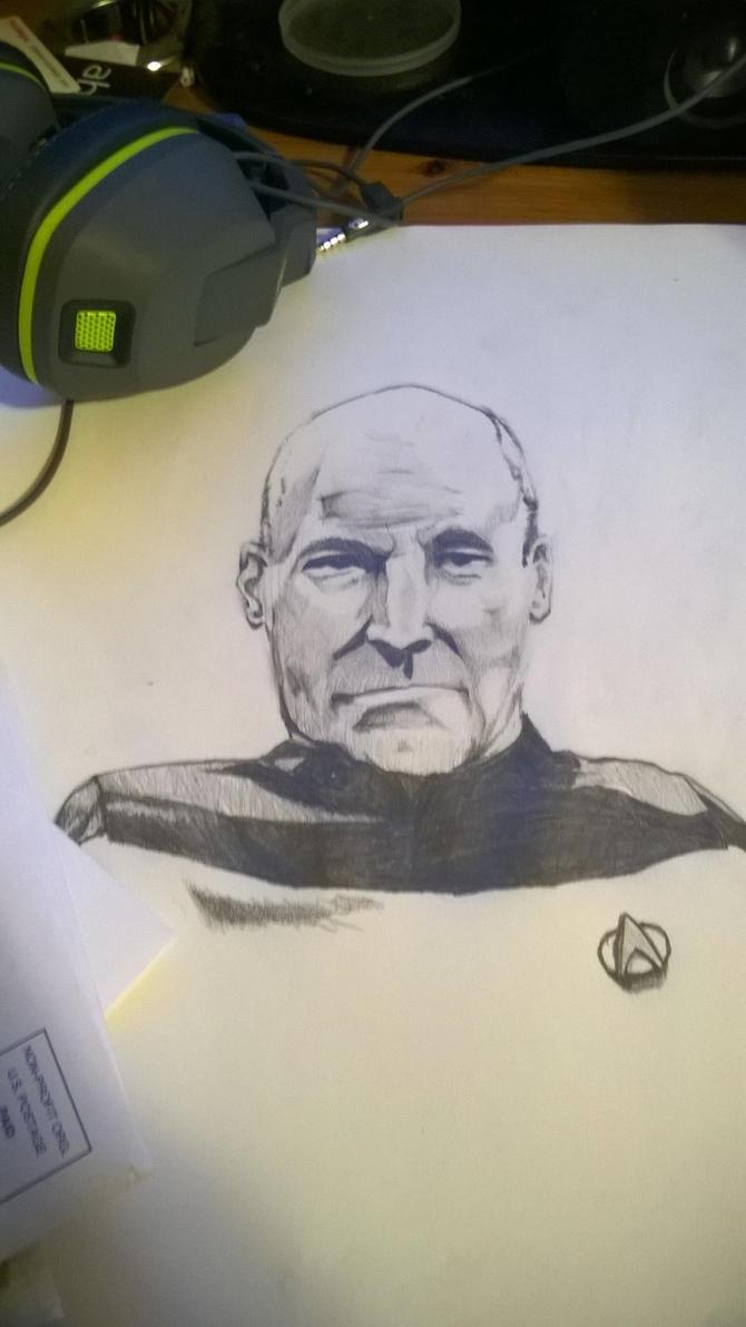 captain jean luc picard by Mr-bananasham