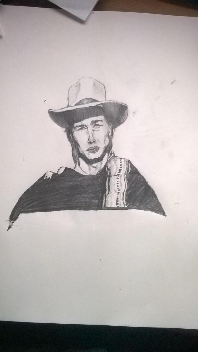 Cowboy in Graphite by Mr-bananasham