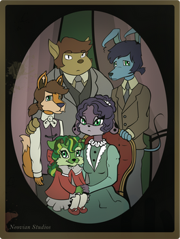 Neopets - Sophie's Family
